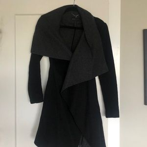 Women's belted Peacoat